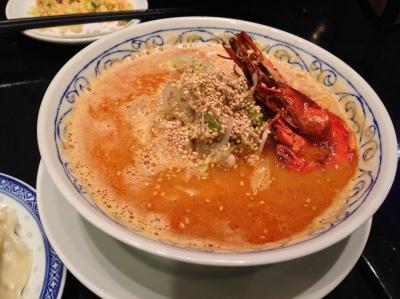 エビ味噌担々麺