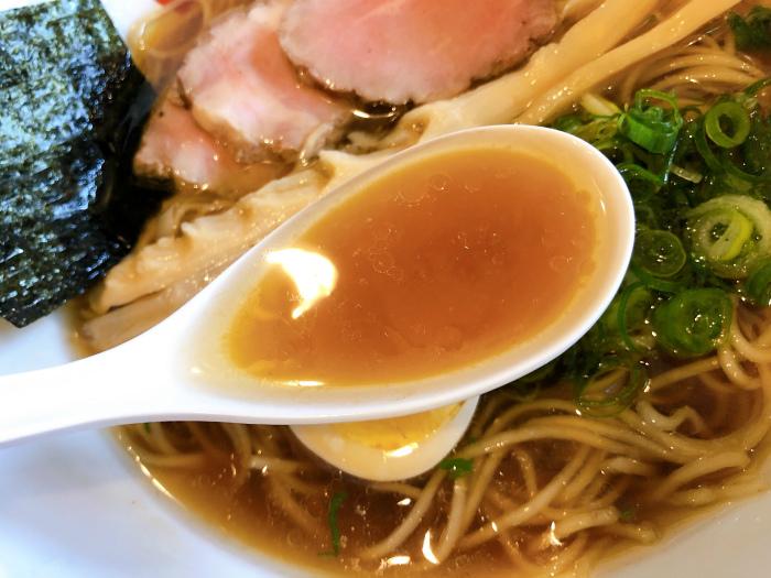 麺屋 169 中華そば 醤油 スープ