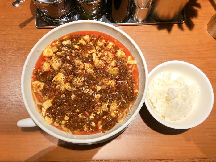 SHIBIRE NOODLES 蝋燭屋 札幌店 麻婆麺