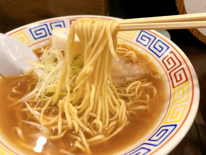 しょうゆラーメン  麺