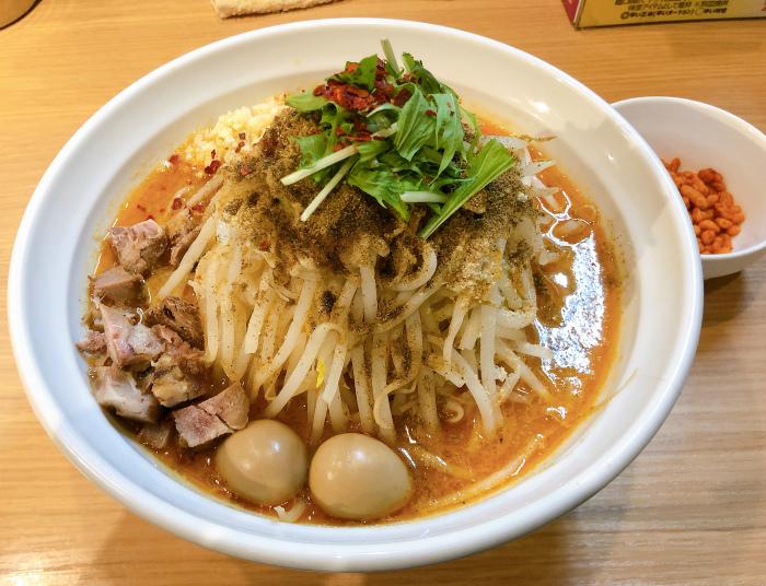 らー麺シャカリキ 限定:ゴマ味噌-カラシビ-