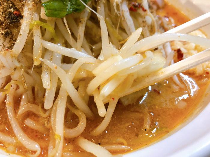 らー麺シャカリキ 限定:ゴマ味噌-カラシビ-  ヤサイ