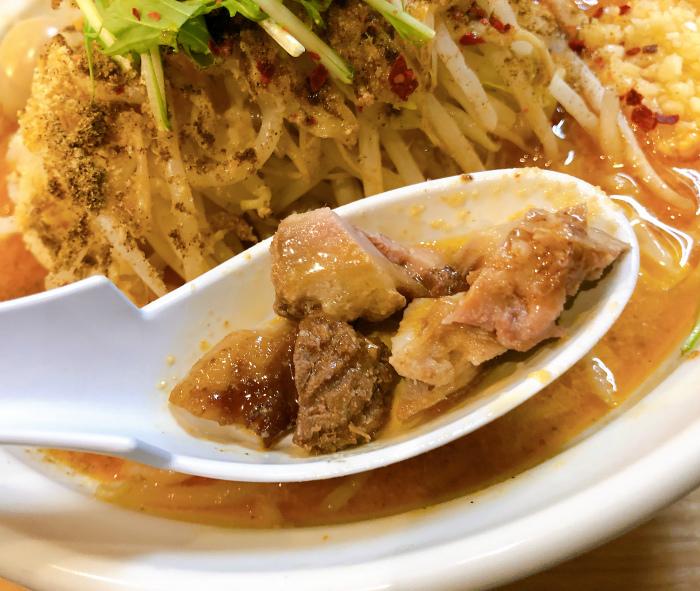 らー麺シャカリキ 限定:ゴマ味噌-カラシビ-  豚