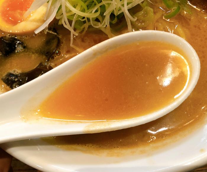 麺屋 雪風 すすきの店@すすきの 濃厚味噌らーめん  スープ