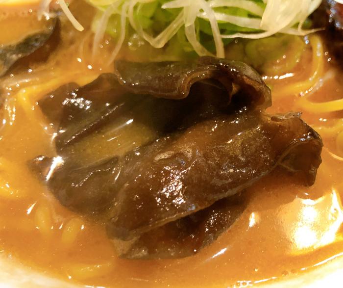 麺屋 雪風 すすきの店@すすきの 濃厚味噌らーめん きくらげ