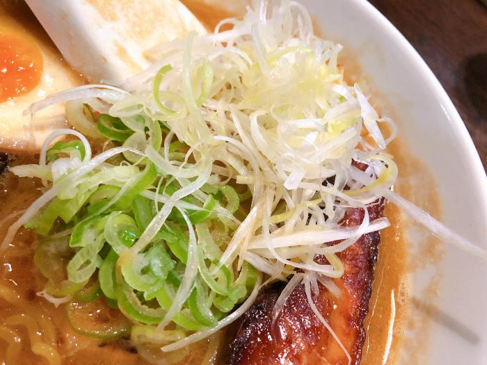 麺屋 雪風 すすきの店@すすきの 濃厚味噌らーめん  ネギ