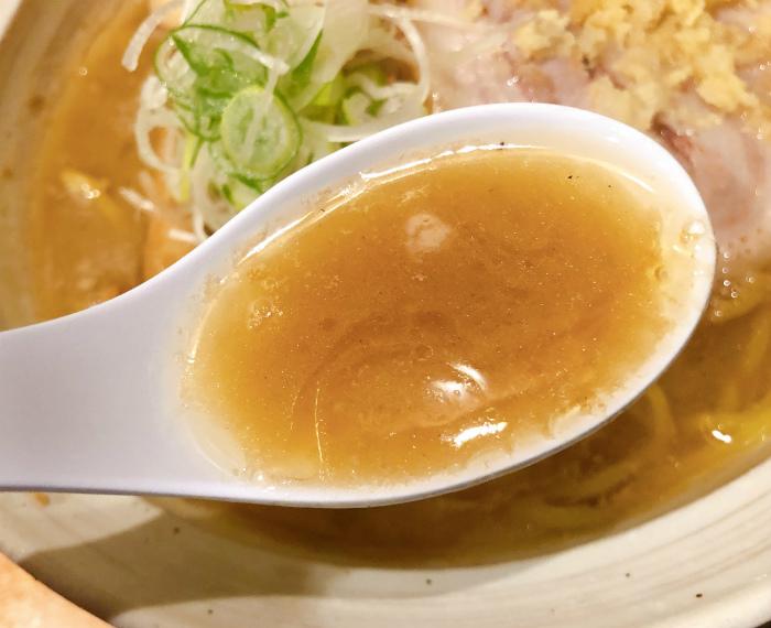 麺屋 すずらん 味噌らーめん スープ