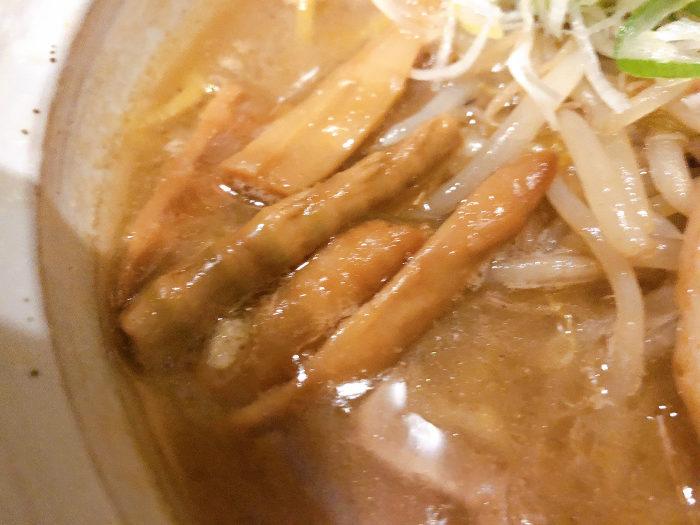 麺屋 すずらん 味噌らーめん 姫竹