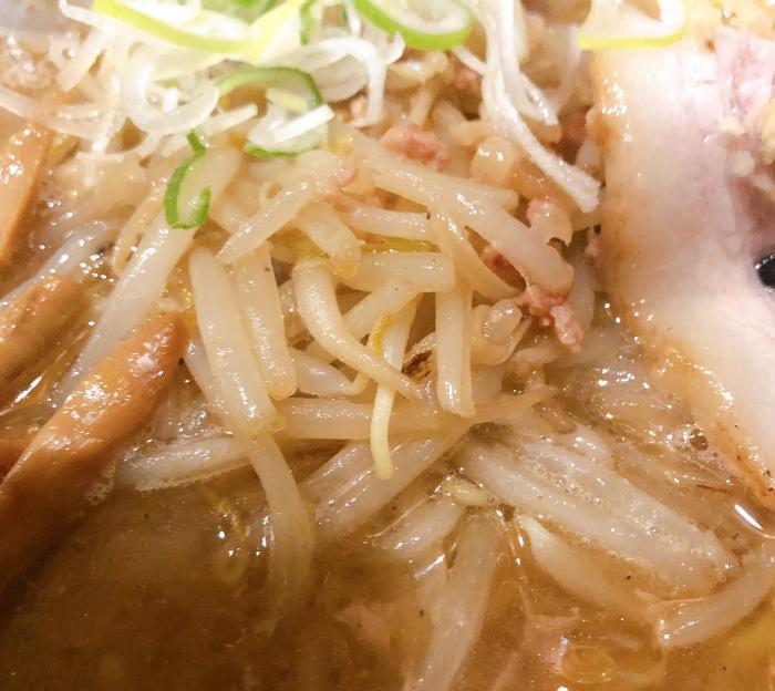 麺屋 すずらん 味噌らーめん 炒め野菜