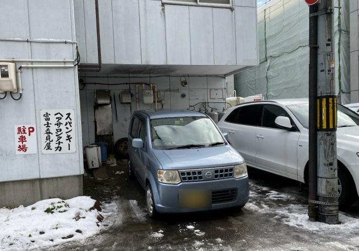 中華そば スパンキー 駐車場