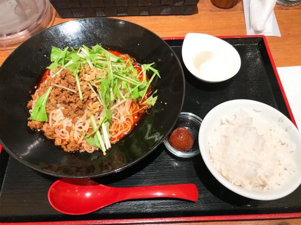 麻 SHIBIRE@sitatte sapporo 汁なし担々麺