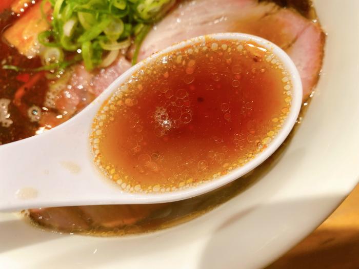 ふじ屋 NOODLE 黒醤油 スープ