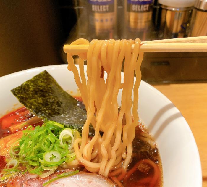 ふじ屋 NOODLE 黒醤油 麺