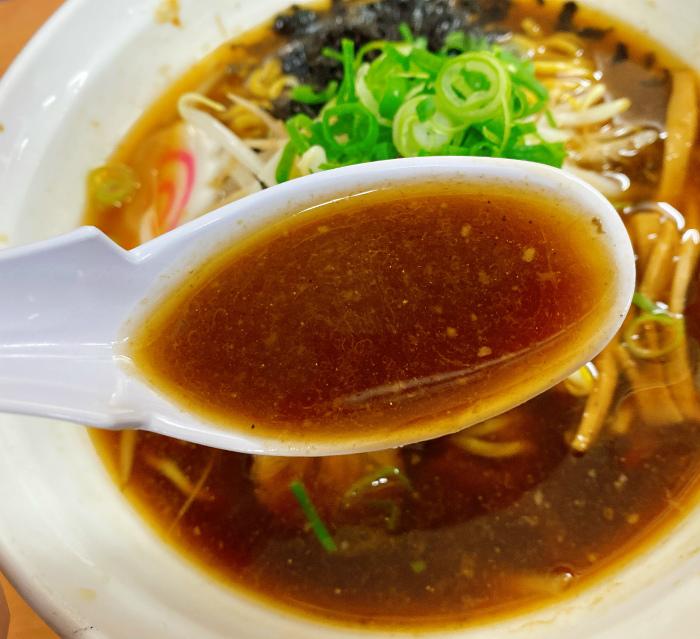 辛醤油らーめん スープ