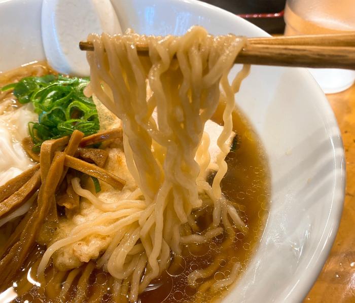 鶏中華そば 麺