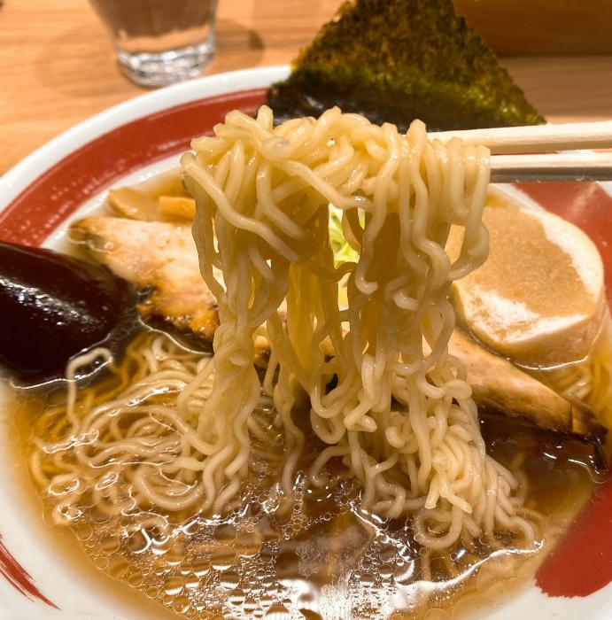 釧路らーめん 麺