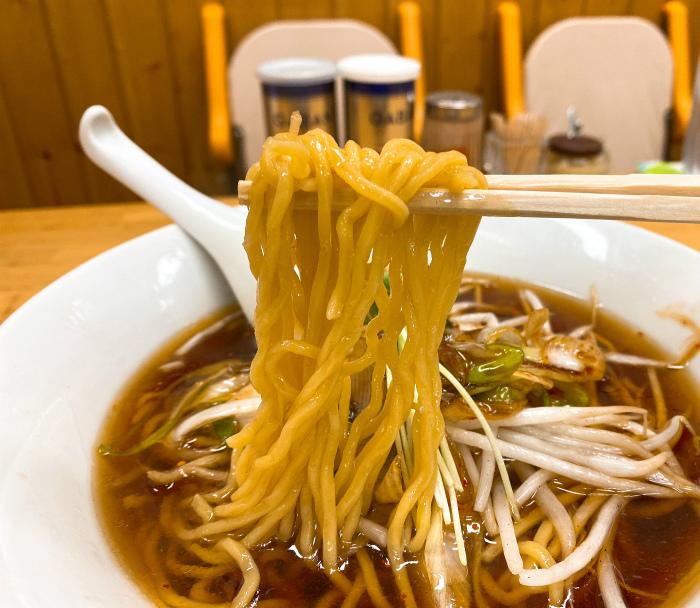 みすゞラーメン 醤油 麺