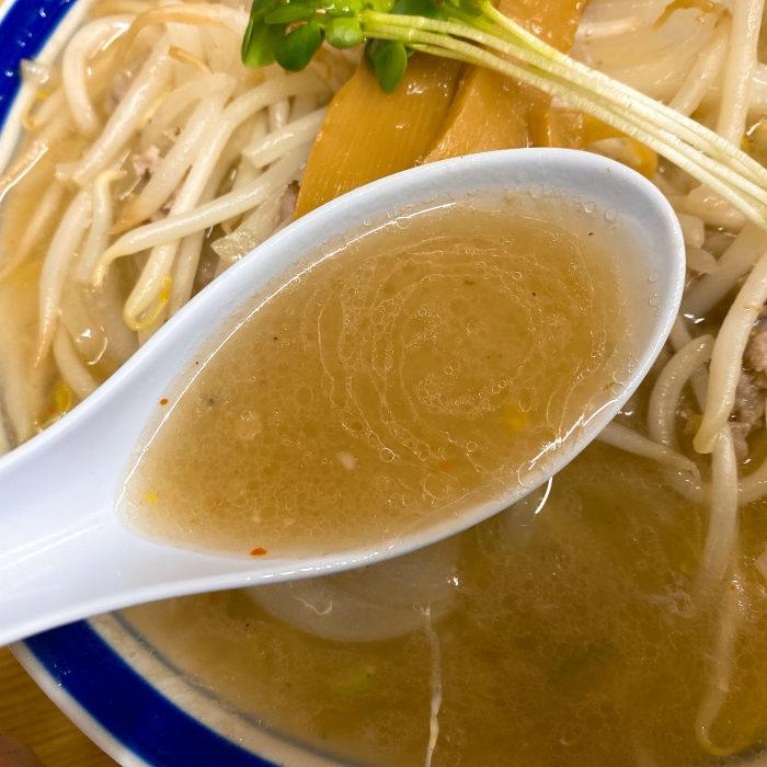 味の三平 味噌ラーメン スープ
