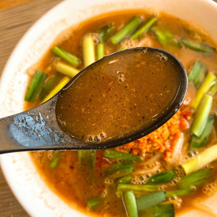 本気ラーメンとお食事処 修平チャン@恵庭市 台湾ラーメン スープ