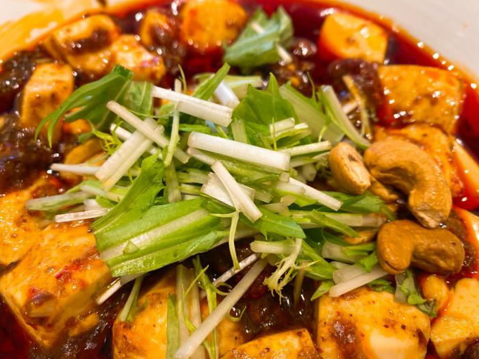 175°DENO担担麺 Lounge HOKKAIDO DENO麻婆麺 水菜