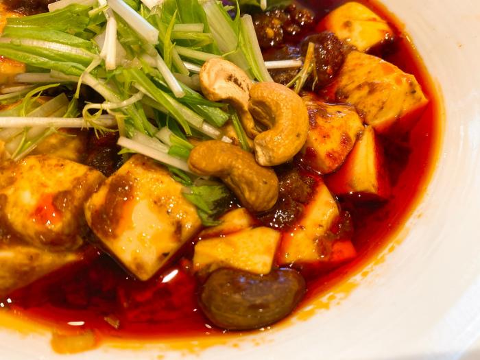 175°DENO担担麺 Lounge HOKKAIDO DENO麻婆麺 カシューナッツ