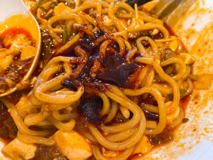 175°DENO担担麺 Lounge HOKKAIDO DENO麻婆麺 ラー油