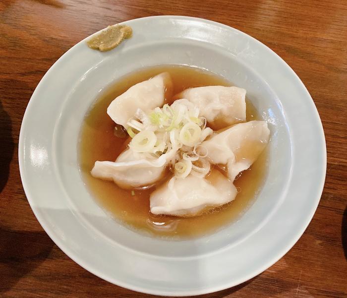 親鶏煮干し水餃子