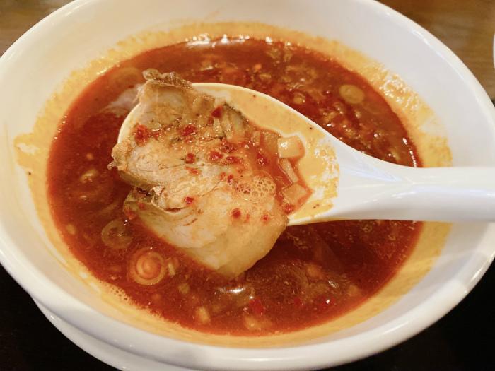 カラ鶏煮干しつけ麺