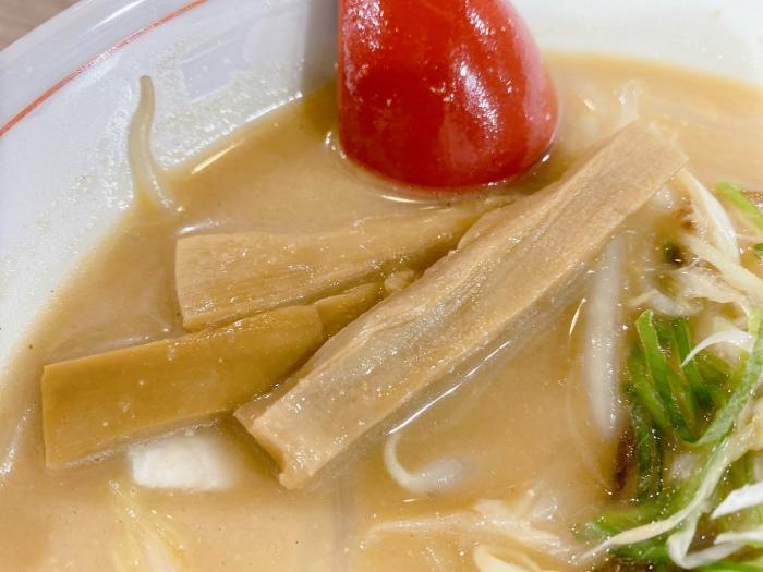 麺や 廉@北区北15西4 コクまろ味噌 メンマ