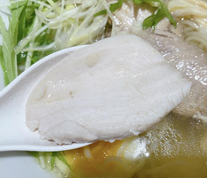 和出汁中華そば 山わさび 山わさび中華SOBA(塩)鶏チャーシュー