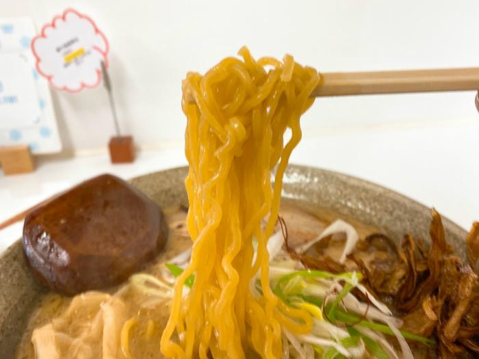 麺や 春夏揫冬-ShiKi-でごぼうらーめん 味噌 麺
