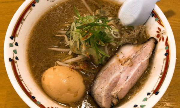 味噌らーめん専門店 狼スープ@中島公園 味噌卵らーめん