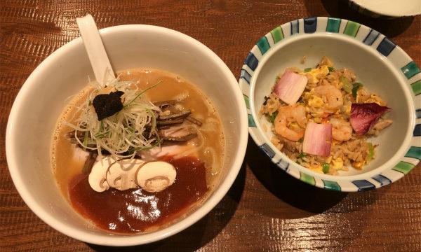 アメリケーヌ豚骨平打ち麺 with トリュフ