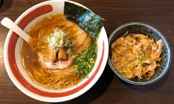 麺処 まるは BEYOND 中華そば 醤油 専用茶漬けセット
