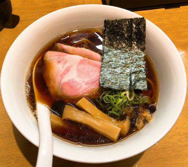 ふじ屋NOODLE@すすきの 黒醤油