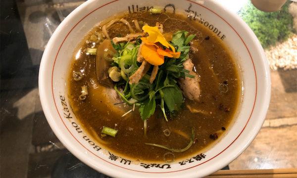 Japanese Ramen Noodle Lab Q@大通り 七福2019 限定 みそらぁ麺 大地