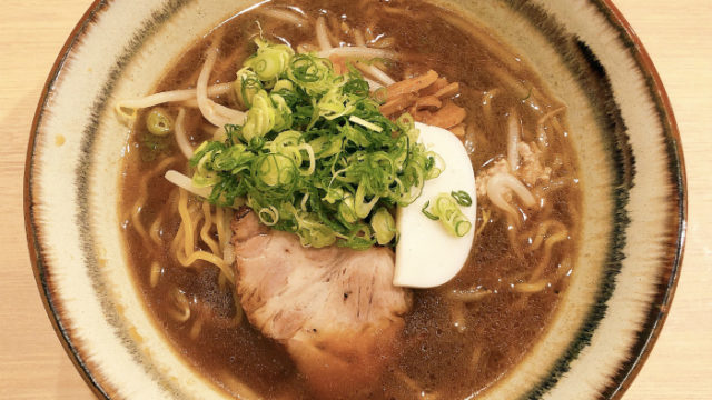 札幌麺屋 美椿 醤油