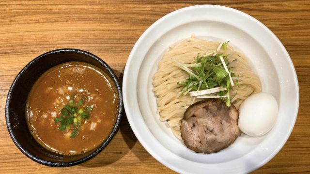 限定:辛味噌の煮干しつけ麺